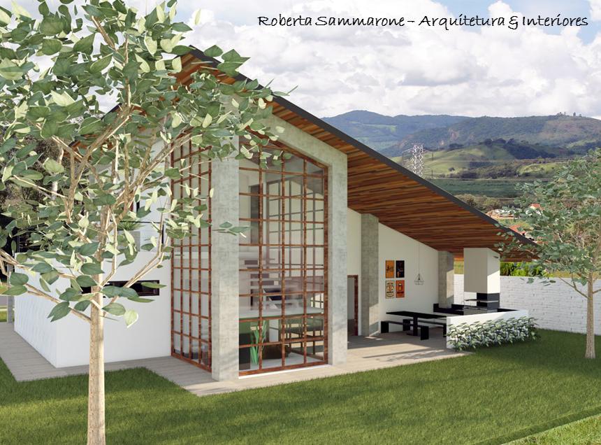 Casa L.H Atibaia