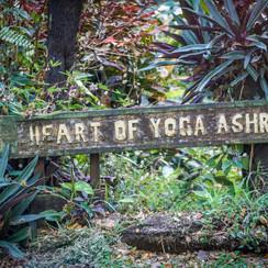 Door way into the Heart of Yoga Ashram, Tavueni Island, Fiji