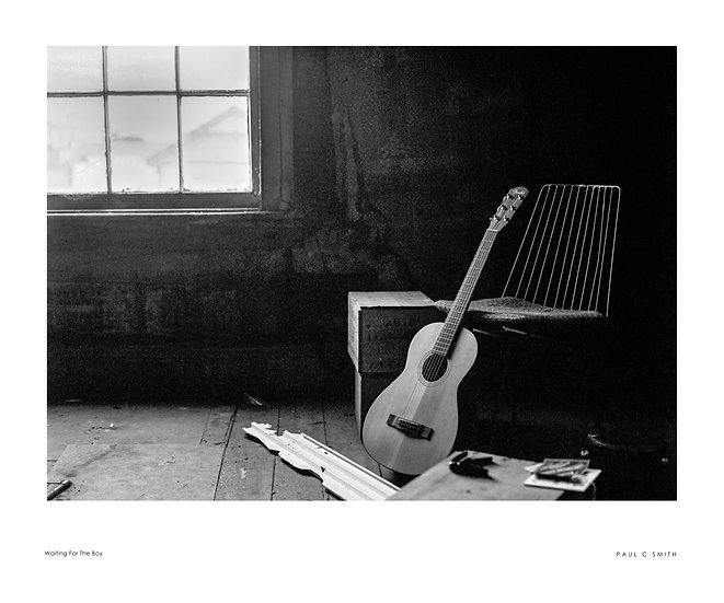 Waiting For The Boy Limited Print