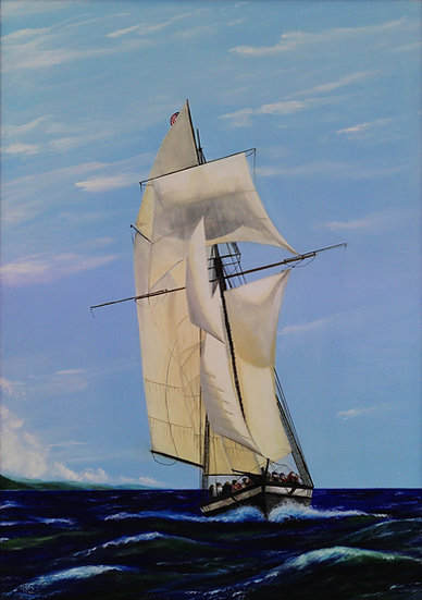 "Sailboat - 42 ""x 30"""