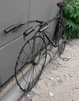 Triathlon Wire Sculptures