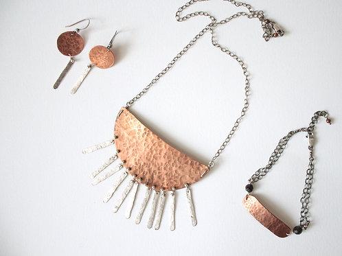 Copper Fringe Breastplate
