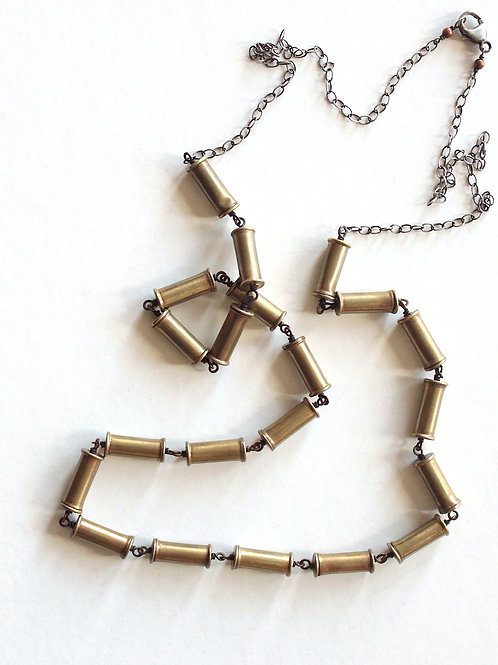 The Twenty One Impacted Links Necklace