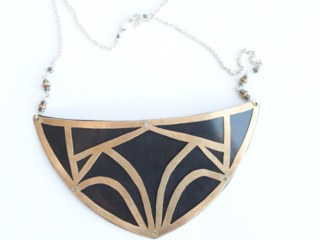 DIY: How to Create a Cut-out Breastplate Necklace