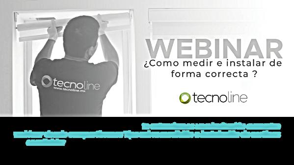 webinar correcta instalacion tecnoline 2