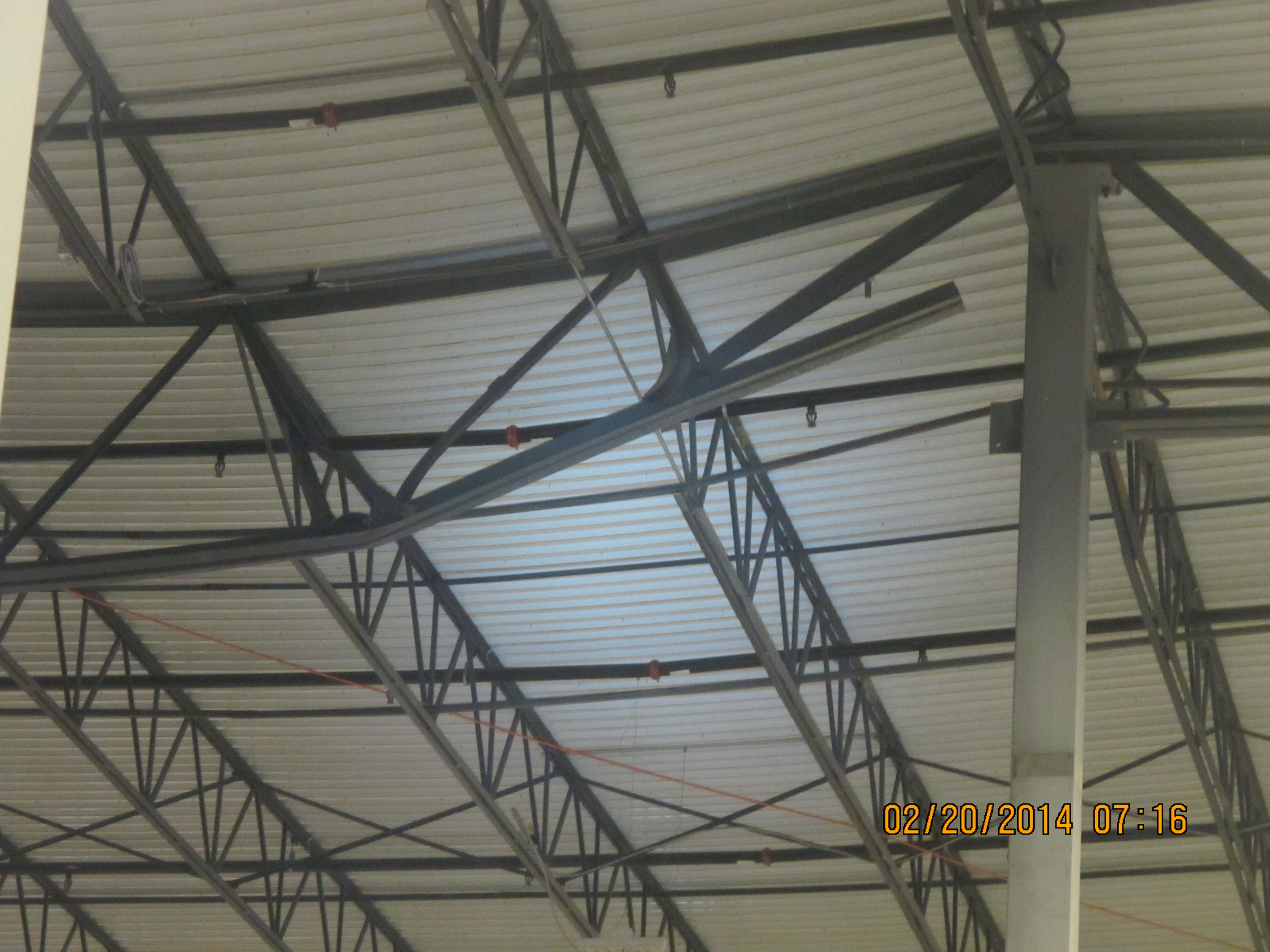 Distribution Center Roof Damage