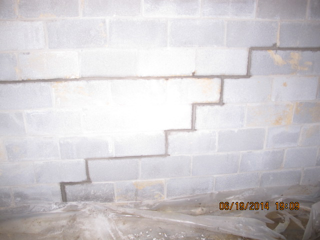 Basement Wall Damage