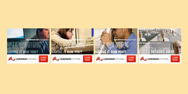 LIEBERMAN SOFTWARE BANNER ADS