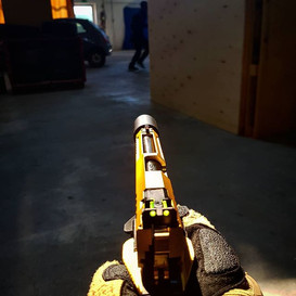 Let the gun shine..._-----_Sexiest team