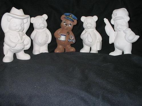 Bear naked figures