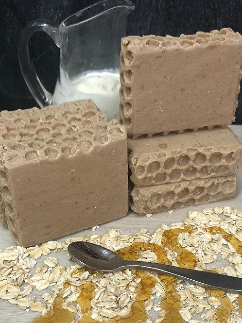 Natural-N-Naked (Oatmeal, Milk & Honey) Soap