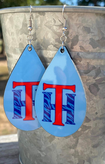 Tex Hill Tear Drop Earrings
