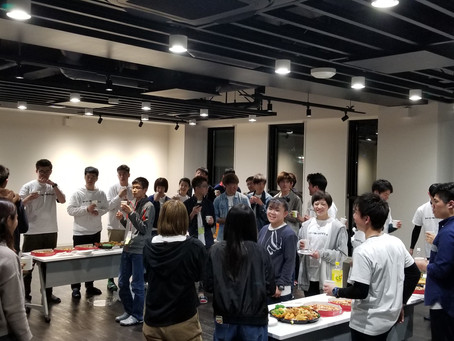 WELCOME PARTY!!(2019.4.1)