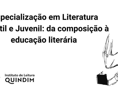 Inscrições para Especialização em Literatura Infantil e Juvenil seguem até 23 de outubro