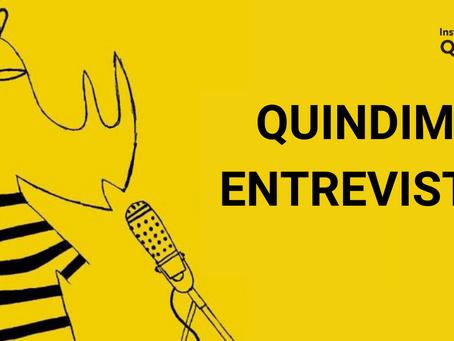 QUINDIM ENTREVISTA: Conheça o podcast da iniciativa