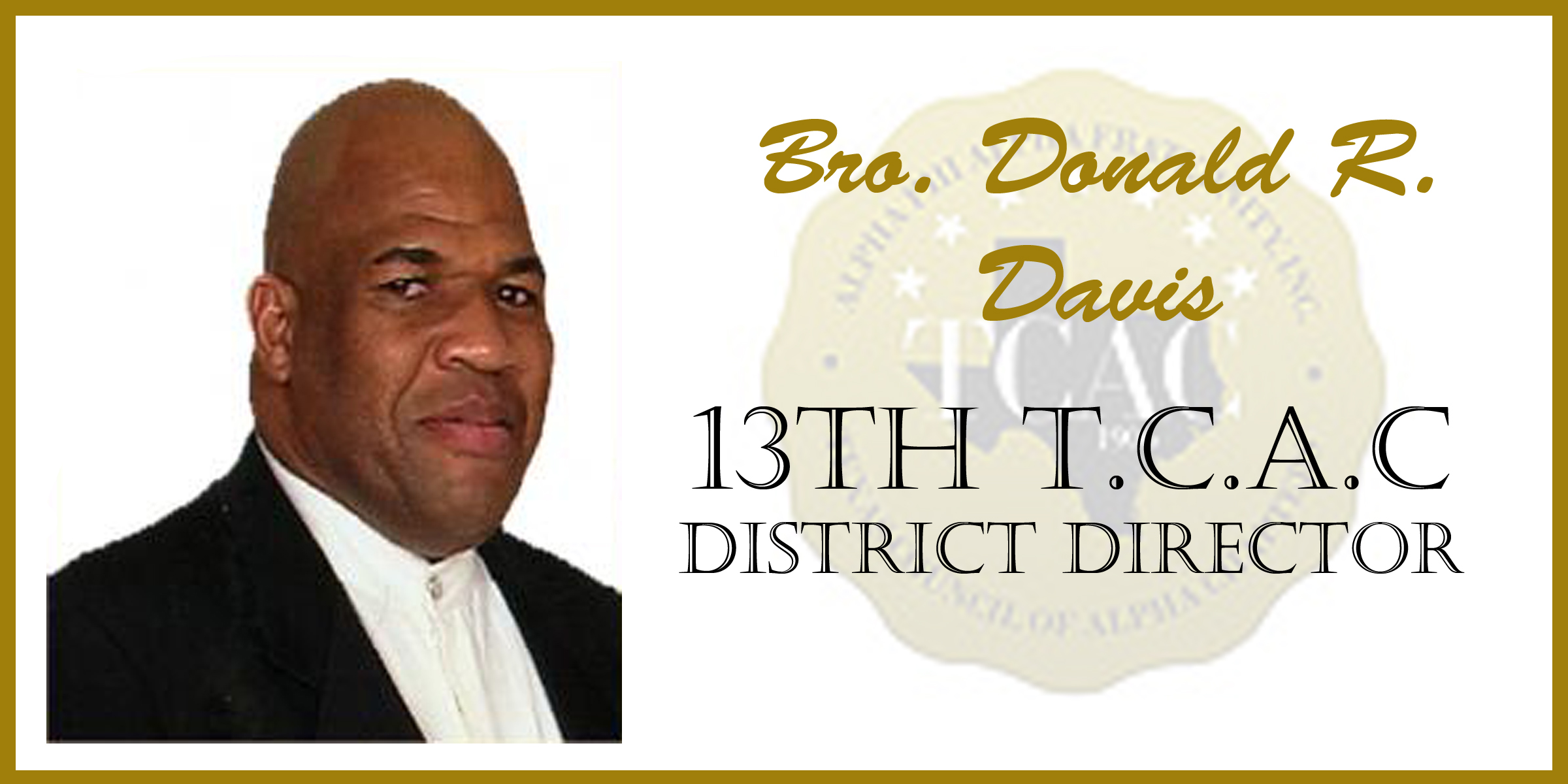 13 Bro Donald Davis