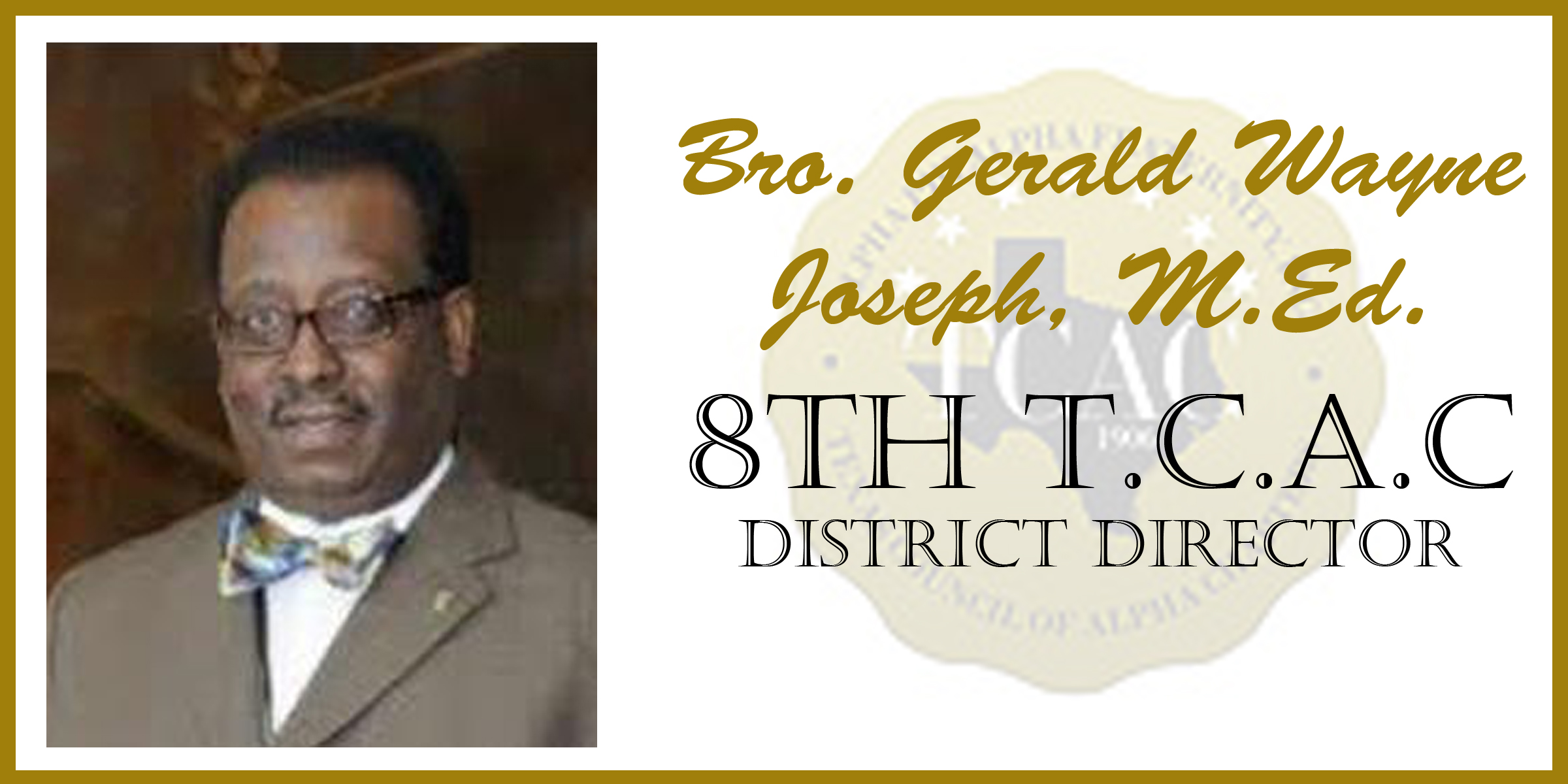 8 Gerald Joseph