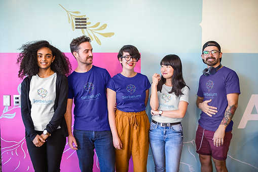 interracial-group-of-five-coworkers-wear
