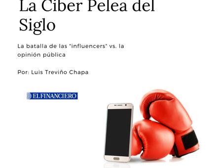 """La Ciber Pelea del Siglo: """"Influencers"""" vs. la Opinión Pública"""