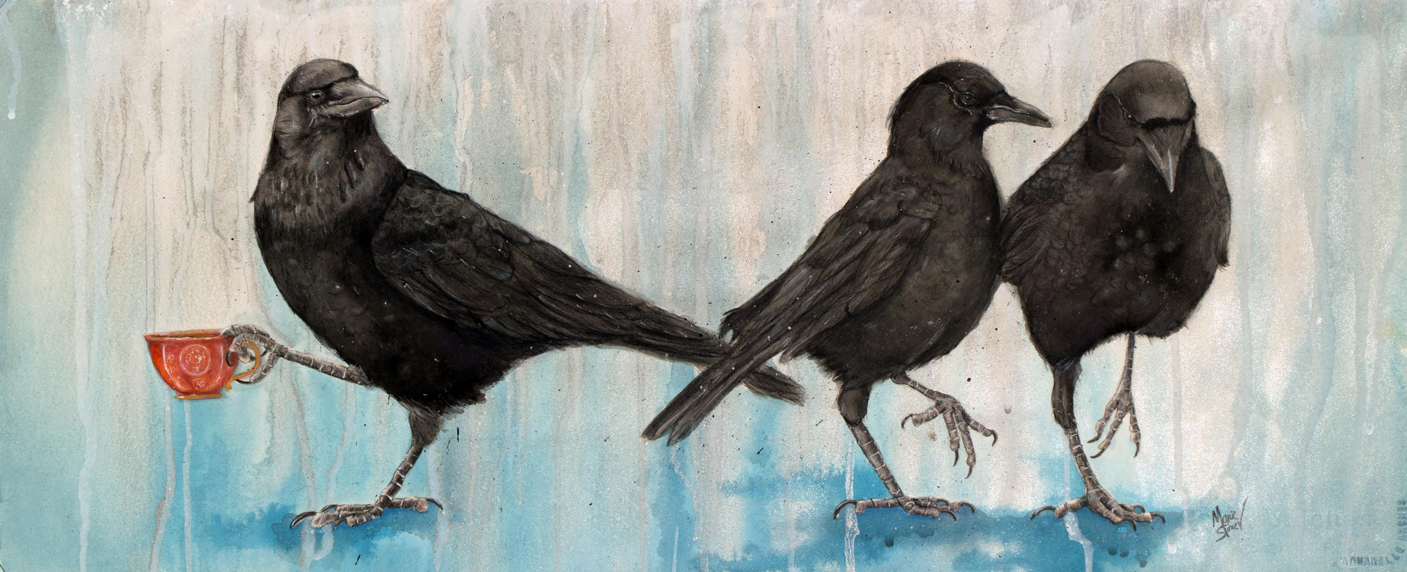 Crow Takes Tea