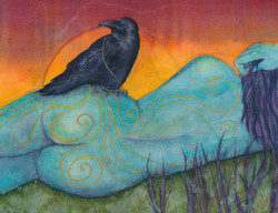 The Still Life with Crow