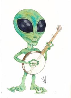 Banjo Alien