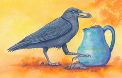 Pitcher and the Crow