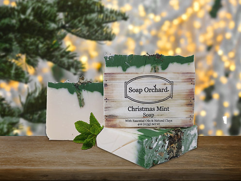 Christmas Mint Soap Bar
