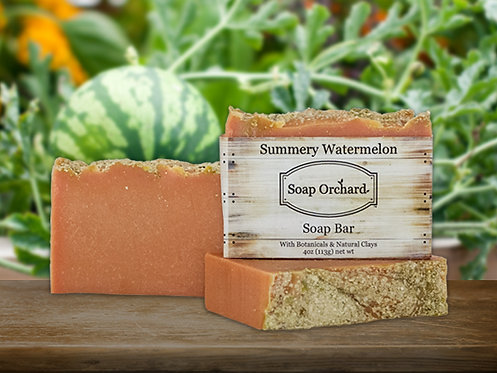 Summery Watermelon Soap