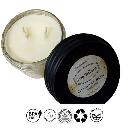 Double Wick Soy Candle Collection
