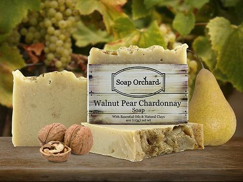 Walnut Pear Chardonnay Soap