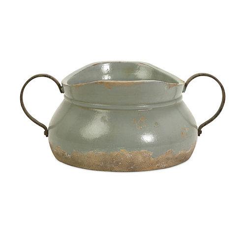 Calista Short Bowl w/Metal Handle