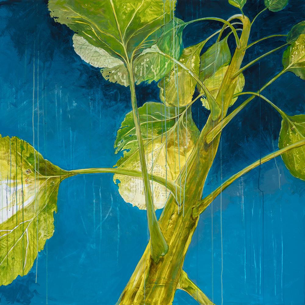 Sunflower canvas artwork by Deb Sheldon