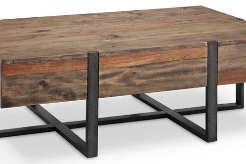 DK Modern Reclaimed Wood Coffee Table
