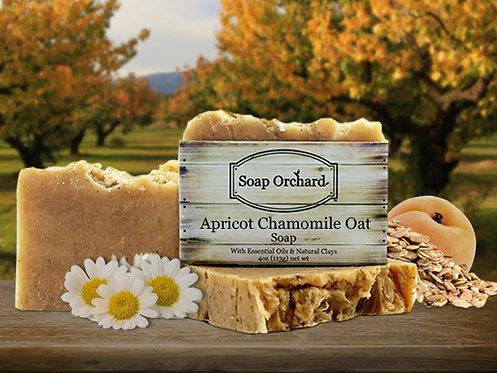 Apricot Chamomile Oat Soap Bar