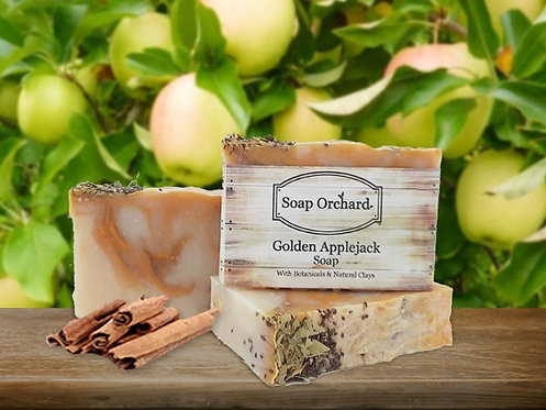 Golden Applejack Soap Bar