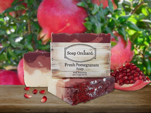 Fresh Pomegranate Soap Bar