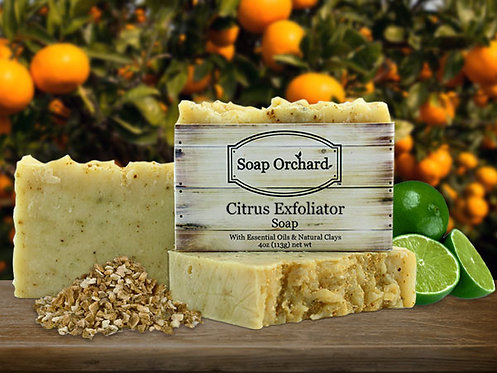Citrus Exfoliator Soap Bar