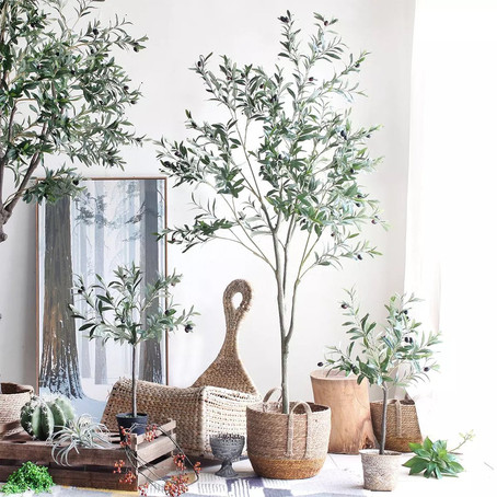 Give Your Room Pops Of Nature With Faux Greenery!