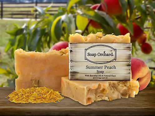 Summer Peach Soap Bar