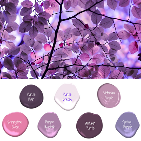 Color Theory of Purple