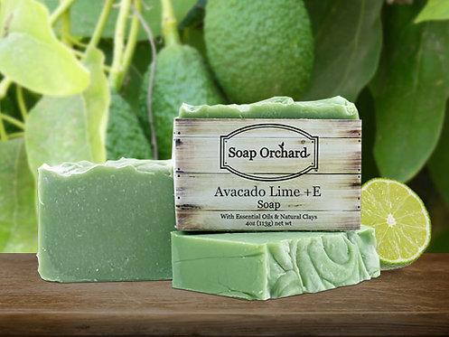 Avocado Lime + E Soap Bar