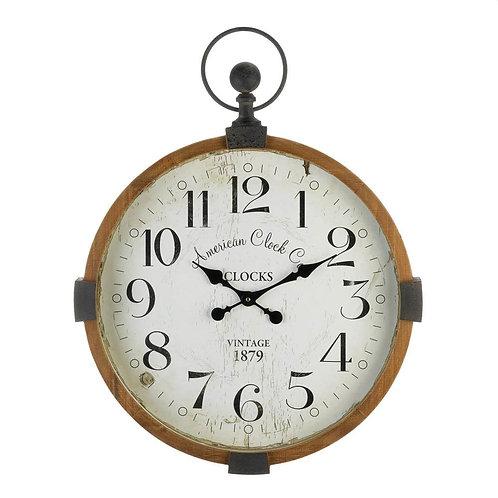 Vintage Rustic Wall Clock