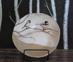 Birds on Birch Bowl