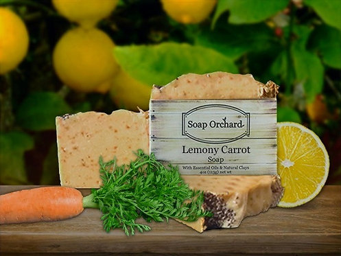 Lemony Carrot Soap Bar