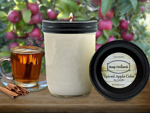 Orchard Jar Soy Candle Collection