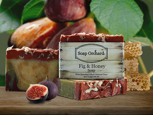 Fig & Honey Soap Bar