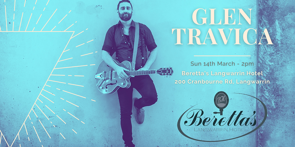 Langwarrin Hotel - Glen Travica Solo