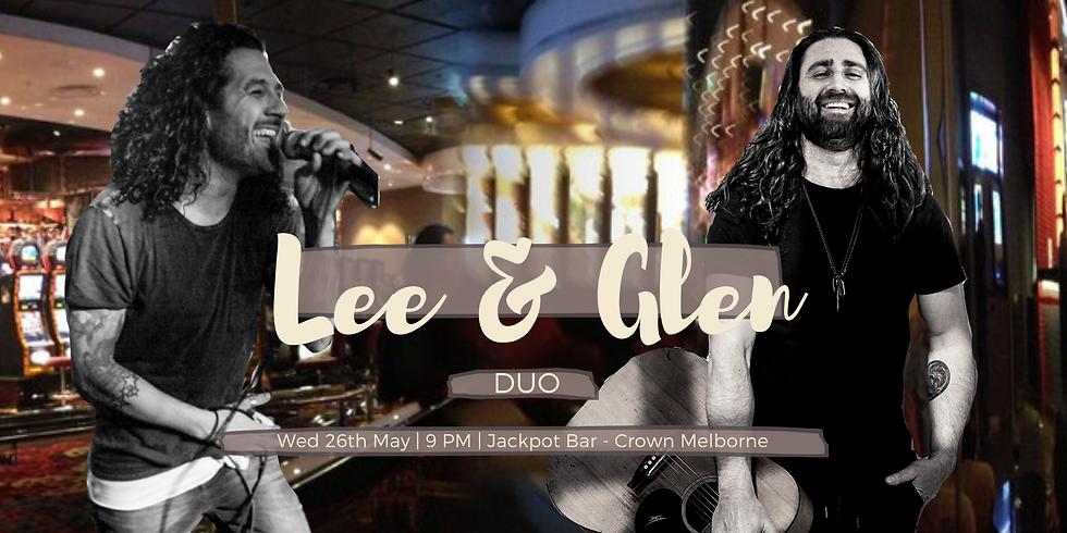 Lee & Glen Duo at Jackpot Bar, Crown Melbourne