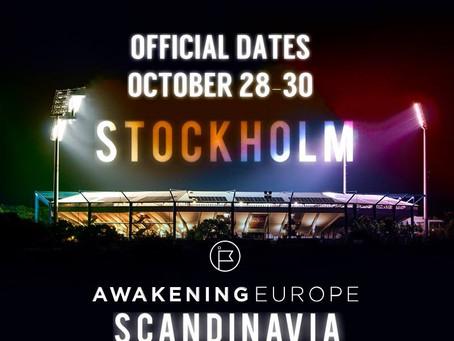 Daniel Hagen & Resound Band at Awakening Europe this October!